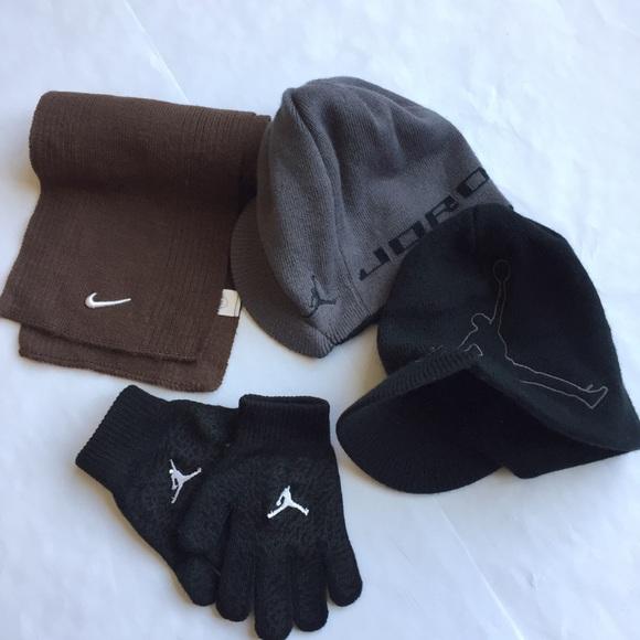 84fee6dc Jordan Accessories | Nike Boys Youth Hat Scarf Glove Set | Poshmark